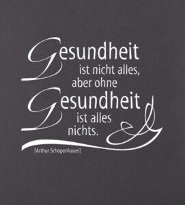 Schopenhauer Zitat_Gesundheit