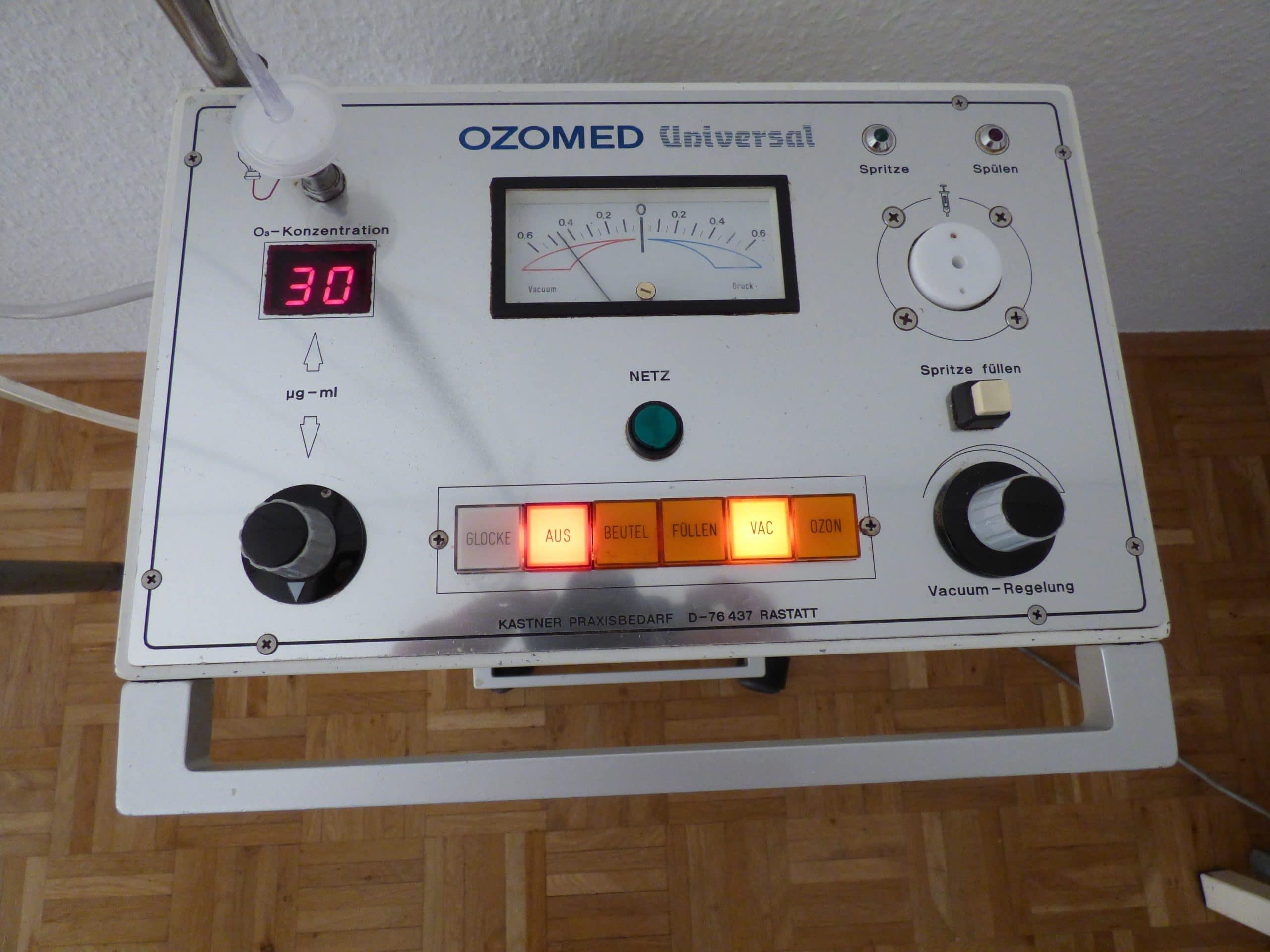 Ozontherapie hilft beim Abnehmen